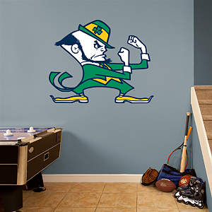 Notre Dame Fighting Irish Logo Fathead Wall Decal